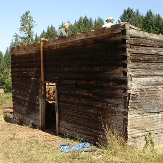 Reconstruction of the Molalla Log House